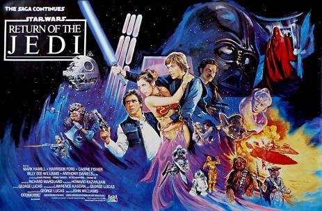 Star Wars - Return Of The Jedi (1983) British Quad